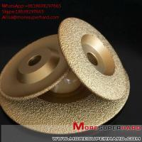 Buy cheap Vacuum Brazed Diamond Grinding Disc for marble and granite  Alisa@moresuperhard.com from wholesalers