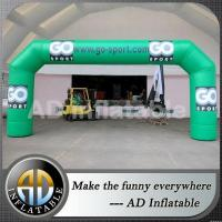 Buy cheap Wide legs advertising inflatable arch for promotion from wholesalers