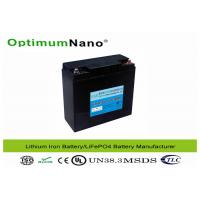Buy cheap Solar Energy Storage Lithium Battery Pack , Street Light Lithium Iron Battery from wholesalers