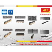 China Polymer Concrete Channel ,NW150,EN1433,CE,with ductile iron grating on sale