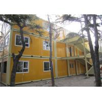 Buy cheap Rookwool Demountable Prefab Steel Building with Electrical Circuit from wholesalers