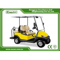 Buy cheap Yellow 48V Electronic Golf Carts CHAFTA Approved 3.7KW ADC Motor from wholesalers