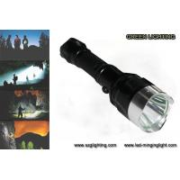 Buy cheap IP67 10W Rechargeable Torch Light, 25000 Lux 1200 High Lumen Flashlight from wholesalers