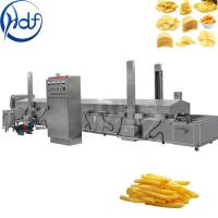 Buy cheap Automatic Commercial Potato Chip Maker , Fryer French Fries Potato Chips Production Line from wholesalers