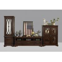 Buy cheap American Antique Living leisure room furniture sets Wooden TV wall unit set by product