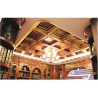Buy cheap Tin Texture 3D Ceiling Tile European Style Wallpaper Light Weight and Eco from wholesalers