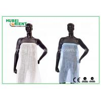 Buy cheap One Time Use Disposable Kimono Robe Spa Skirt / Bath Cloth for beauty salon from wholesalers