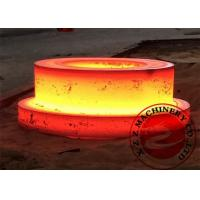 Buy cheap Construction Steel Forgings ASTM EN DIN GB , Carbon Steel Flange Thickness 1000mm product