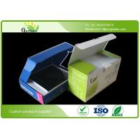 Buy cheap Die Cutting Cardboard Packaging Boxes , Embossing Cardboard Storage Boxes from wholesalers