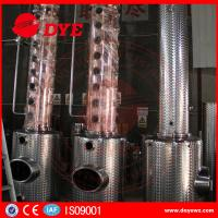Buy cheap Stainless Steel Moonshine Alcohol Stills Copper Distiller Manual from wholesalers