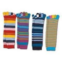 Buy cheap Funky sweety girl's Soft permeable warm Polyester five finger running socks for kids from wholesalers