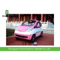 Buy cheap Pink Color 2 Seats Little Electric City Car 60 Volt Lead Acid Maintenance Free from wholesalers