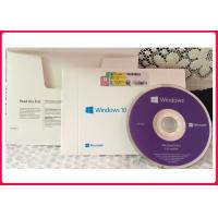 Buy cheap 64 Bit Windows 10 Pro Retail Box Package OEM COA Internet Activation product