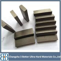 Buy cheap China factory 400mm 600mm 800mm granite cutting diamond blade segment for stone cuttng disk from wholesalers