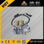 Buy cheap komatsu excavator PC55MR-2 solenoid valve 22F-60-21201 from wholesalers