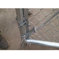 Buy cheap china Chain Link Wire Mesh Fencing , PVC Coated Chain Link fences ,Plastic Chain Link Fence product