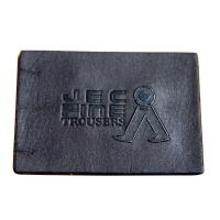 Buy cheap High Density Embossed Leather Patches Brass Rivet from wholesalers