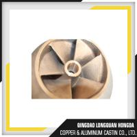 Buy cheap Brass / Copper / Bronze Sand Casting Parts For Pipe Fitting ISO 9001 Certified product
