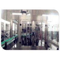Buy cheap SUS304 Material Pet Bottle Juice Filling Machine PLC Frequency Converter Control from wholesalers