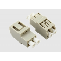 Buy cheap Duplex Multimode 1550nm OM3 LC Fiber Optic Cable Adapter from wholesalers