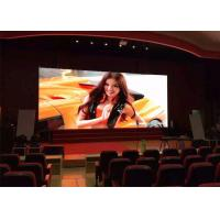 Buy cheap P6mm SMD3528 1500nits Brightness Indoor Advertising LED Display Backdrop Large LED Screen from wholesalers