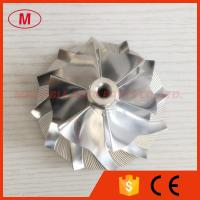 Buy cheap GT3782VAS 56.83/82.04mm 6+6 blades performance billet/milling/aluminum compressor wheel from wholesalers