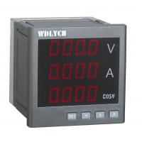 Buy cheap Intelligent Electric Power Meter, Led Power Factor Measurement MeterAlarm Output from wholesalers