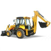 Buy cheap China Manufacture Building Digger with Loader Attachment Hydraulic Backhoe Earthmover Excavating Backhoe Loader from wholesalers