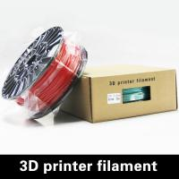 Buy cheap 3.0mm Red 3D Printer PLA Filament / Durable 1.75mm PLA Filament product