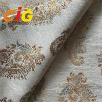 Buy cheap 100% Polyester Jacquard Sofa / Curtain Fabric Home Decor Fabrics Width 295cm from wholesalers