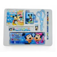 Buy cheap Cartoon Stationery set contain scissor pencil earser notebook ruler pencil sharpener from wholesalers