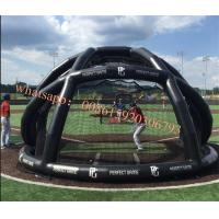 Buy cheap Portable Inflatable Cages & Goals , inflatable batting cage,baseball batting cage , polyester batting , quilt batting , from wholesalers
