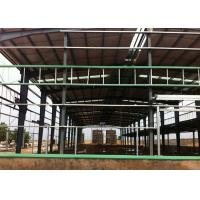 Buy cheap Large Span Warehouse Steel Frame , Steel Structure Workshop Stable Structure from wholesalers