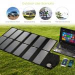 Buy cheap Customized Folding Solar Panel Kit , 50 Watt 80w Folding Solar Panels For Camping from wholesalers