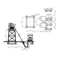 hzs75 Concrete Batching Plant construction drawings