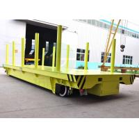 Buy cheap handrail factory material transfer platform on rails for coil handling from wholesalers