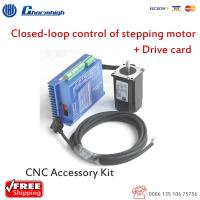 Buy cheap HSS 57 Closed Loop Stepper Motor DIY CNC Kit With Drive Card Stepping Driver from wholesalers