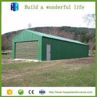 Buy cheap Customized industrial steel structure shed steel fabrication workshop from wholesalers