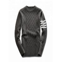 Buy cheap Standard Wool Mens Fashion Sweaters , Nice Sweaters For Men Round Neck Pullover from wholesalers
