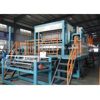 Buy cheap Low Noise Pulp Egg Tray Making Machine , Paper Egg Tray Machine With Big Capacity product