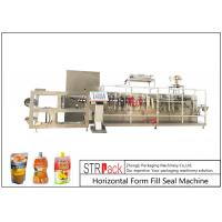Buy cheap Customize Horizontal Form Fill Seal Machine , Top Spout Pouch Packing Machine from wholesalers