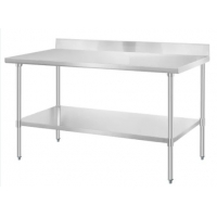 Buy cheap Lab Work Table 1.2mm Stainless Steel Lab Furniture With Backsplash from wholesalers