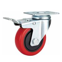 Buy cheap Rolling castor wheel, European caster,Pallet trolley caster,Rubber caster from wholesalers