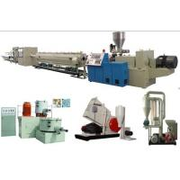 Buy cheap Water PVC Pipe Extrusion Line Double Screw 220 - 415V Input Voltage from wholesalers