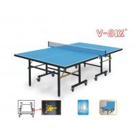 Buy cheap Economic Indoor Full Size Ping Pong Table Single Folding Movable Easy Install from wholesalers