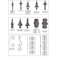 Buy cheap Wrought iron components,forged bars.spear points,scrolls from wholesalers