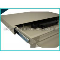 Buy cheap FC / PC 24 Port Fiber Patch Panel Rack Mount 70KPa - 106KPa Atmosphere Pressure from wholesalers