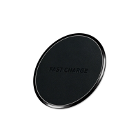 Buy cheap Round PU Leather 105mm Magnetic Portable Phone Charger from wholesalers