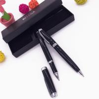 Buy cheap Customized Metal Laser Engraving Pen with Cap Set Box Packing for Gifts from wholesalers