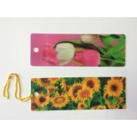 Quality Custom 0.6 mm PET 3D Lenticular Bookmarks With Two Sides CMYK Printing ISO for sale